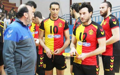 Volleyball : L'Espérance de Tunis remporte sa 16e coupe de Tunisie