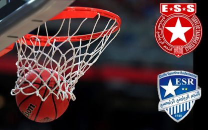 Basketball: L'Etoile de Radès et l'Etoile du Sahel vainqueurs par décision