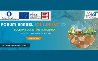 Le Forum IoT Tunisia 2018 à Elgazala Technopark : «Pour un écosystème performant»
