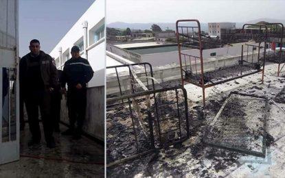 Incendie au foyer des garçons de Joumine : Un élève arrêté