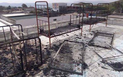 Bizerte : Incendie dans un foyer de garçons à Bazina Joumine