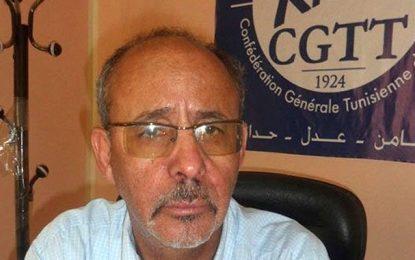 Tunisie-Fête du travail : La CGTT plaide pour un «syndicalisme citoyen»