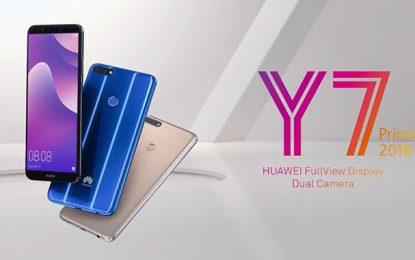 Lancement officiel en Tunisie du Huawei Y7 Prime 2018