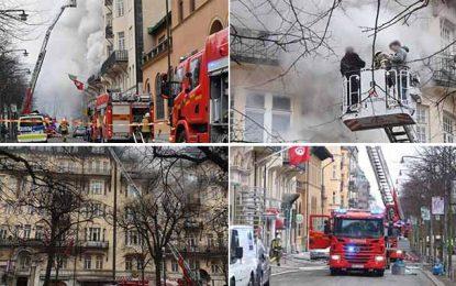 Suède : L'ambassade de Tunisie à Stockholm n'a pas été incendiée