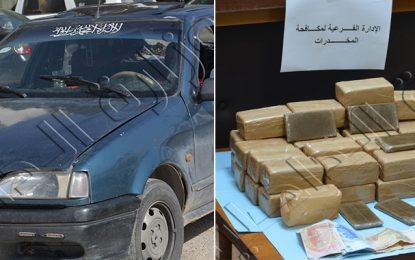Chébika : Un takfiriste recherché arrêté en possession de 20 kg de zatla
