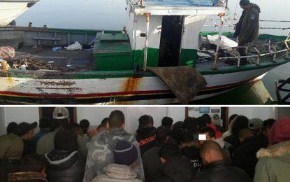 Migration clandestine : Femmes enfants et takfiristes arrêtés à Kerkennah
