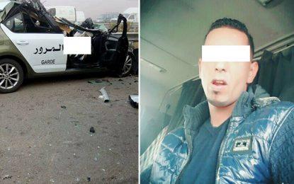 Accident à Kerker : Arrêté pour s'être réjoui du décès des 2 policiers