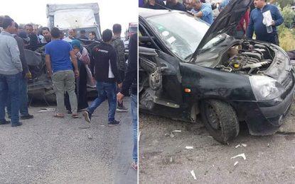 Accident à Sousse : Quatre morts d'une même famille et 8 blessés