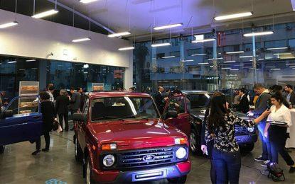 Automobile: Artes présente à Tunis le Lada Urban 4X4 russe tout terrain
