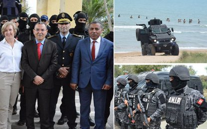 Lutte antiterroriste : Démonstration de force à Gammarth