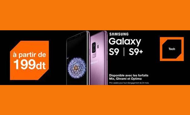 Orange Tunisie Les Samsung Galaxy S9 Et S9 A Partir De 999 Dt