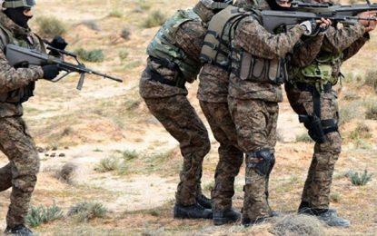 Kef : L'armée et la GN pourchassent un groupe terroriste