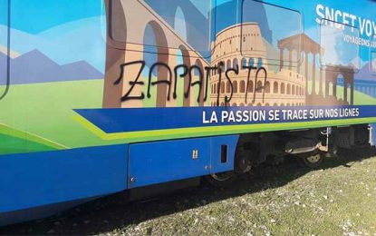 Le Kef : A peine inauguré, le train SNCFT Voyage tagué par des inconnus