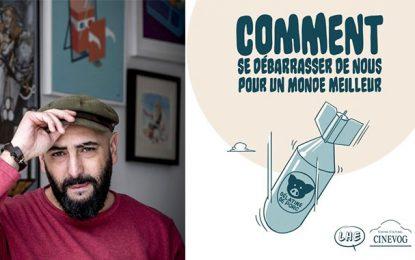 Le dessinateur algérien Salim Zerrouki à l'espace Cinevog au Kram