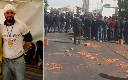 Le sit-in d'El-Kamour levée par la police, tensions à Tataouine