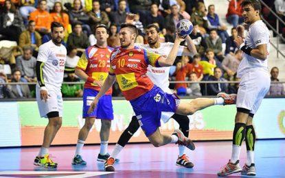 Handball : Sévère défaite de la Tunisie face à l'Espagne (33-18)