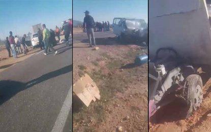 Kairouan : Six blessés dont une femme enceinte dans un accident