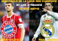 Bayern-Real Madrid : streaming live 2018 – demi finale aller