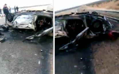 Le bilan de l'accident de Sfax s'alourdit : 8 morts et 1 blessé
