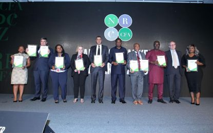Les trophées African Banker 2018 décernés à Busan, en Corée du Sud