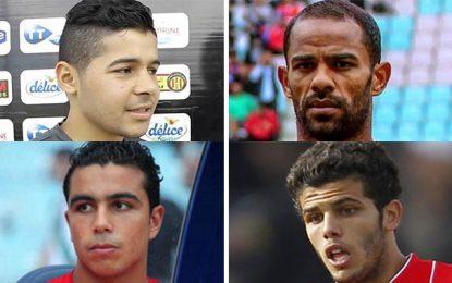 Tunisie-Ligue 1 : Un quatuor de buteurs en tête du classement