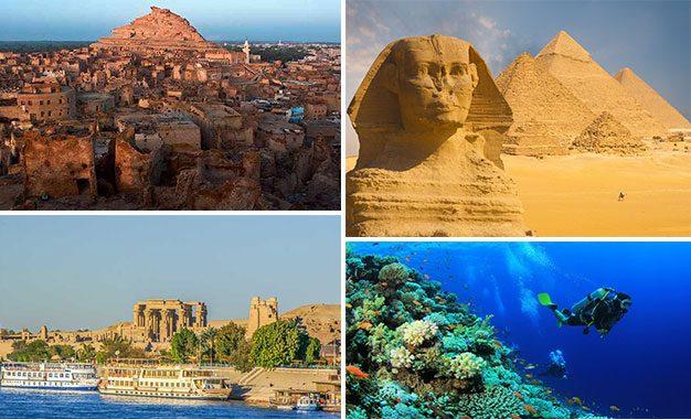 Égypte : Une destination idéale pour les vacances