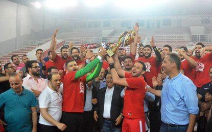 Handball : L'Etoile du Sahel remporte son 9e titre de champion