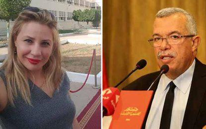 Terrorisme : Noureddine Bhiri qualifie Fatma Mseddi de menteuse