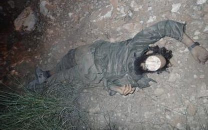 Kasserine : Trabelsi, le terroriste tué hier, membre de Jund Al-Khilafa