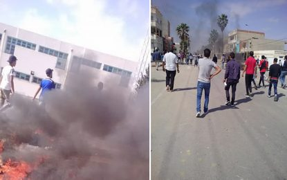 Manifestation violente contre l'exploitation d'un puits à Jelma