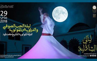 Ce soir à la Cité de la culture : ''La nuit de l'amour soufi''