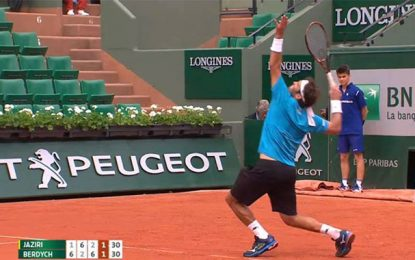 Tennis-Roland Garros : Malek Jaziri stoppé au second tour