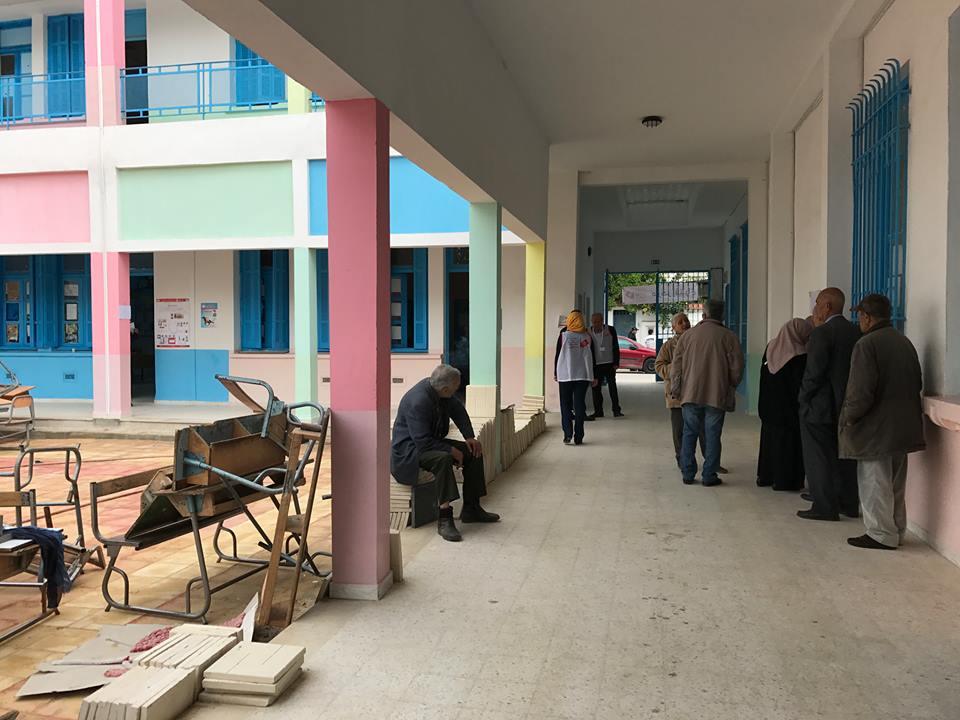 Municipales faible participation à l ouverture des bureaux