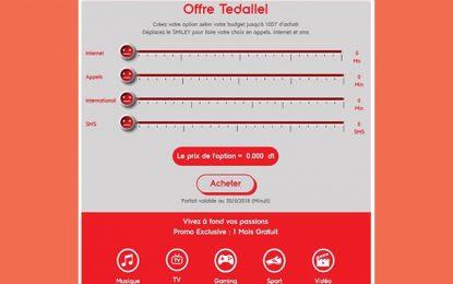 Ooredoo lance Tedallel : Une offre digitale adaptée aux besoins du client