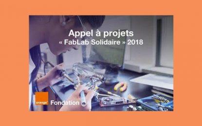 Orange Tunisie : appel à projets «FabLab Solidaire» 2018