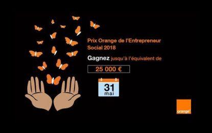 Prix Orange de l'Entrepreneur social : Clôture des candidatures le 31 mai