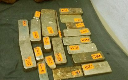 Ras Jedir : Saisie de 20 lingots d'or destinés à l'exportation illégale en Libye