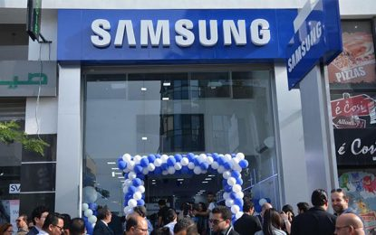 Samsung ouvre 2 Brand shops et 1 Customer Service Center sur le Grand-Tunis