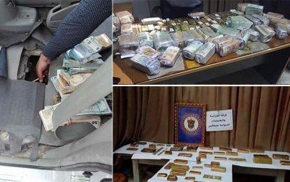 Sfax : Saisie de 4 MDT en devises et des lingots d'une valeur de 7 MDT