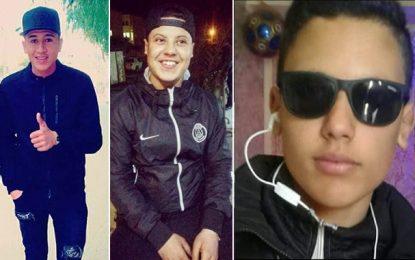 Ils rentraient d'un concours, décès de 2 frères et de leur ami à Sidi Bouzid