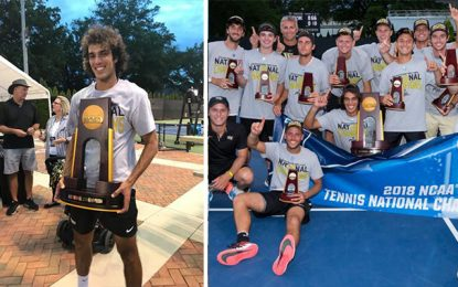 Tennis : Le Tunisien Mansouri champion universitaire des Etats-Unis