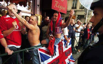 Mondial : Pas de drapeaux anglais pendant le match contre la Tunisie