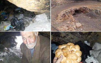Béja : Un homme vit dans une grotte depuis plus de 30 ans