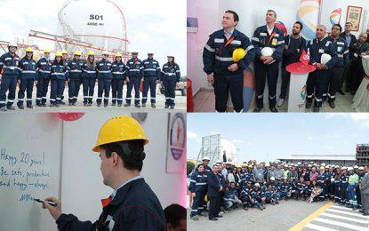 Total : Le Centre emplisseur de gaz fête ses 20 ans en Tunisie