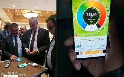Débit : Tunisie Telecom et Huawei atteignent un nouveau record 706,14 Mbps