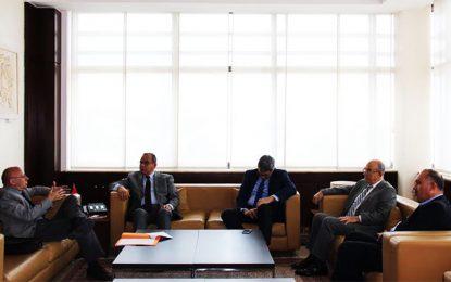 Utica : Samir Majoul reçoit le secrétaire général de l'AICESIS
