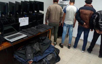 Cambriolage du lycée Ibn Khaldoun : Arrestation de 4 suspects à El-Omrane