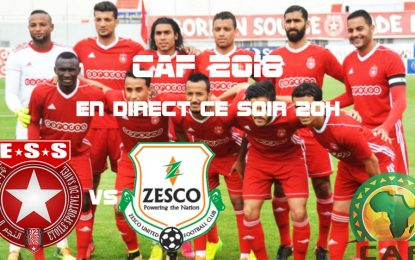 CAF : Étoile Sahel-Zesco United en live streaming