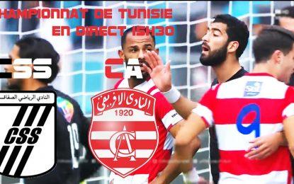 CSS-CA : Championnat de Tunisie en live streaming
