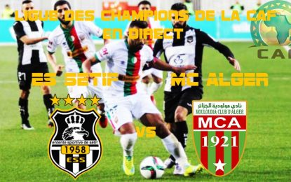 ES Sétif-MC Alger : streaming live CAF 2018